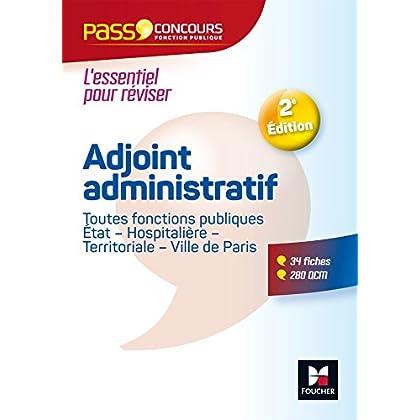 Pass'Concours - Adjoint administratif Fonction publique Etat, territoriale, hospitalière - Cat C