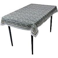 RoyaltyRoute verde floreale tavolo copertura rettangolare in cotone tessuto indiano