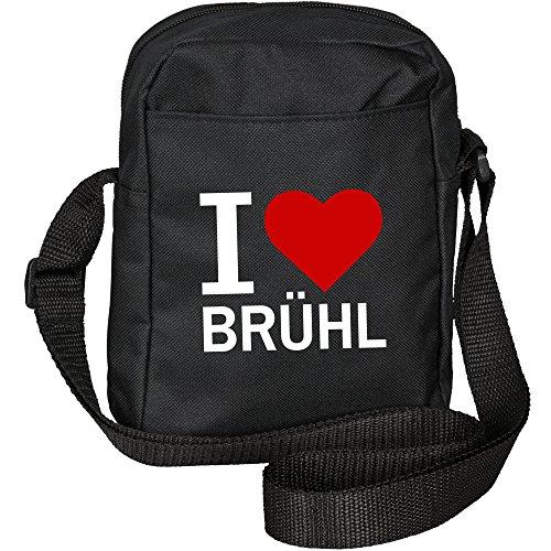 Price comparison product image I Love BRÜHL Shoulder Bag Classic Black