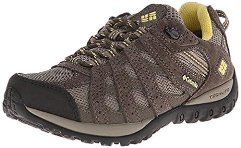 Columbia Redmond Waterproof Damen Trekking- & Wanderhalbschuhe, Braun (Pebble/Sunlit 227), 39 EU, Redmond Waterproof-W