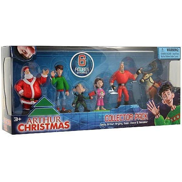 Arthur Christmas Vehicle With Mini Figures Amazon Co Uk Toys Games