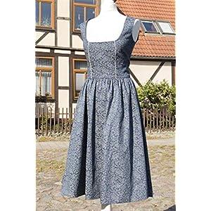 Blaues Dirndl Landhauskleid Gr.38