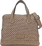 MIYA BLOOM, Damen Handtaschen, Henkeltaschen, Umhängetaschen, Crossover-Bags, 29 x 21 x 15,5 cm (B x H x T), Farbe:Beige
