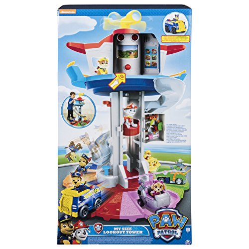 Paw Patrol 6037842 - Beobachtungsturm Spielset -