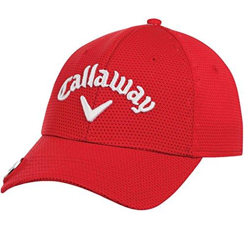 Callaway - Casquette de Baseball Brodée pour Homme Taille Unique Red