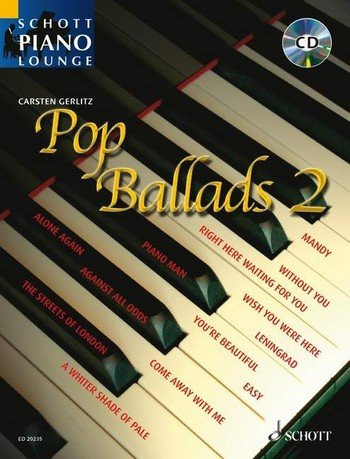 Schott Piano Lounge: Pop Ballads 2