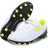 Boys Football Boots Kids Football Shoes Girls FG Soccer Athletics Training Shoes Teenager Outdoor Sport Shoes Sneakers for Un