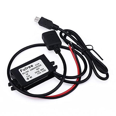 DROK® Mini Electrical Power Converter 8-20V 12V to 5V Auto