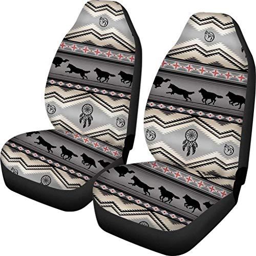 Azteca Dreamcatcher Wolf 2 Pack Fundas asientos delanteros