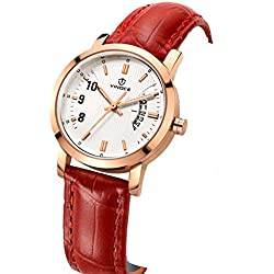 Ladies fashion strap watch/Waterproof quartz watches/Simple casual students watch-A