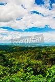 Holz-Bild 20 x 30 cm: 'View point of Kwan Phayao lake, Thailand', Bild auf Holz