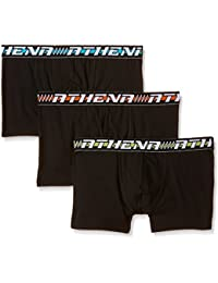 Athena Easy - Boxer - Multicolore - Lot de 3 - Homme