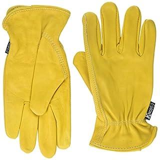 Kinco 035117986244 98W Women's Top Grain Cowhide Leather Ranch and Work Glove, Medium by KINCO INTERNATIONAL