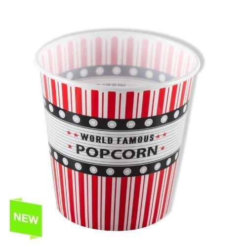 Preisvergleich Produktbild Grimalt - Popcorneimer WORLD FAMOUS POPCORN - 18x13x18 cm - 247730DCA