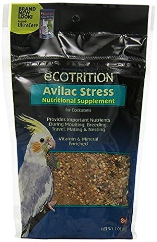 Ecotrition Avilac Stress Complément nutritionnel pour cacatoès, 198,4gram (C570)