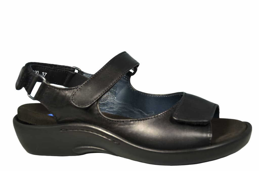 Wolky Damen Boot Salvia, Schwarz Auch in Übergrößen: