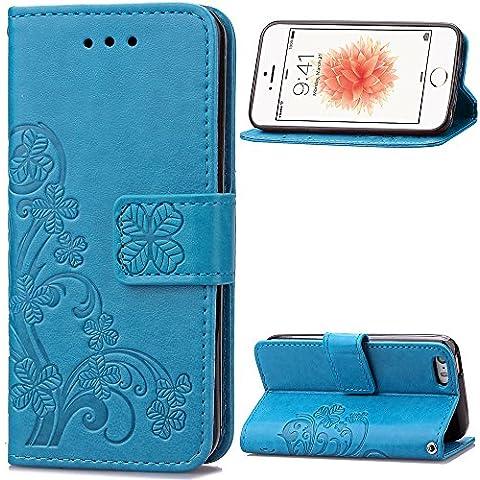 Custodia iphone 5 / 5S / SE Cover blu, Cozy