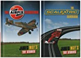 JAMES MAY'S TOY STORIES: AIRFIX AND SCALEXTRIC HANDBOOK : 2 BOOKS COLLECTION : RRP £19.98