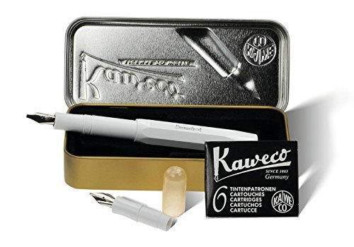 Kaweco Kalligraphie Set 'S', 2 Stifte, weiss