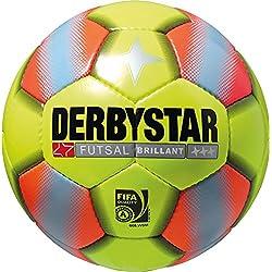 Derbystar Futsal Brillant, amarillo/naranja, 4, 1081400576