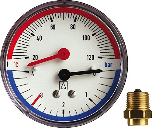 Afriso Thermo-Manometer TM80 63341 axial