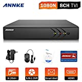 ANNKE TVI 1080P Lite 8 Canali Network Digital Video Recorder Video Sorveglianza Videoregistratore CCTV DVR/HVR/NVR Sicurezza di Sistema P2P Email Allarme 3 Snapshot Manuale Italiano senza HDD