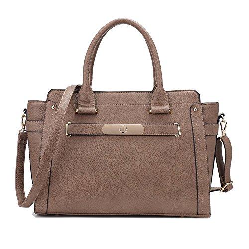 damen-rachelle-all-saints-stil-designer-rahmen-tasche-city-handtasche-beige-warm-taupe-grosse