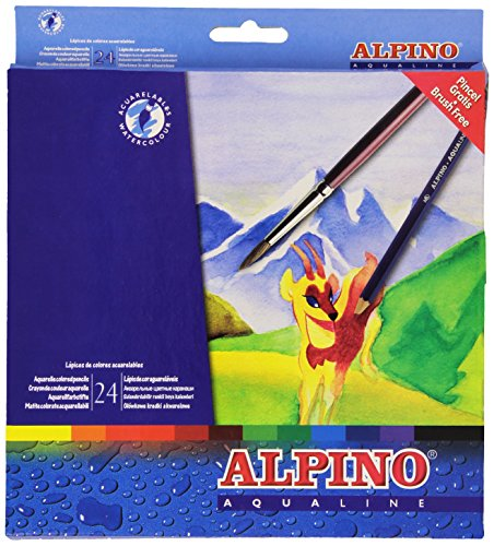 Alpino AL000131 – Pack de 24 lápices, multicolor