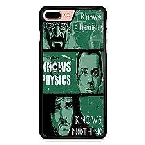 Breaking Bad Vs Big Bang Theory Coque iphone 7 Plus Case NoirCas De Téléphone