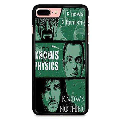 Breaking Bad Vs Big Bang Theory Coque iphone 7 Plus Case NoirCas De Téléphone, Coques iphone