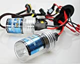 Zhuhai xmy 1 Pair Replacement 55W HID Xenon Light Headlight Bright Bulbs Headlamps HID-Xenon-Licht Scheinwerfer-Birnen-Lampen H1 8000K Conversion Kit Super Vision