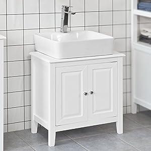 Badezimmermöbel Weiss Landhaus | Deine-Wohnideen.de