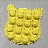 YL 16 hohlräume disney g127 Silikon-Kuchen-Backen-Form-Kuchen Pan Muffin Cups Handgemachte