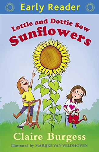 Lottie and Dottie sow sunflowers