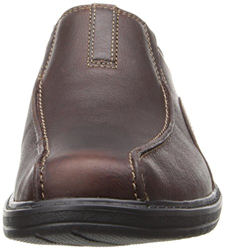 Clarks Sherwin Time Slip-on Mocassins Brown Tumbled Leather