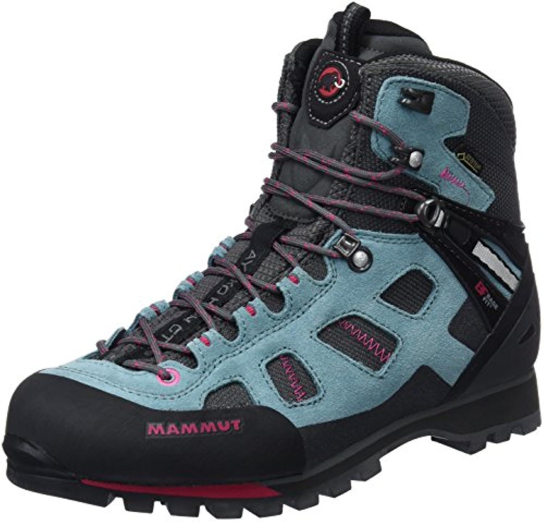 Mammut Ayako High GTX, Stivali da Escursionismo Alti Donna, Blu (Dark Air Magenta 000), 38 EU | Durevole  | Uomini/Donna Scarpa