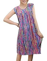Camisón De Tirantes Mujer Pijama Camisón Vestido En Casa Ropa De Dormir Salto De Cama Sin