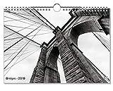 artboxONE Kalender 2019 Bridges Wandkalender A4 Städte