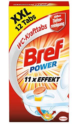 Bref Power WC-Krafttabs Tiefenreinigung, (4 x 300 g)