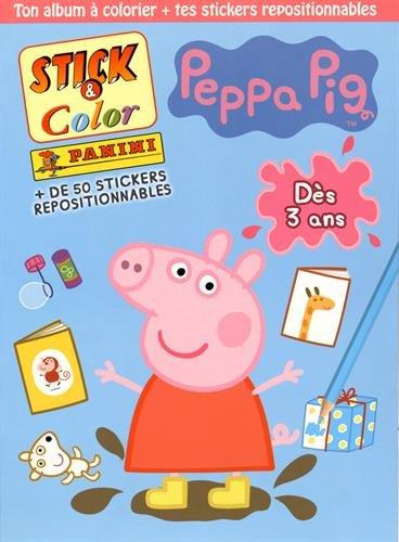 Stick & Color Peppa Pig
