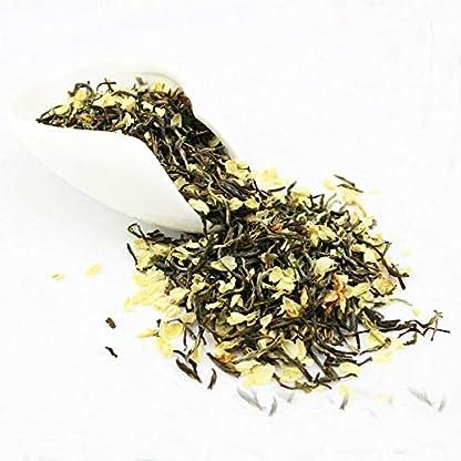 Jasminblten-grner-Tee-Jasmin-Flurries-chinesischer-Tee-grne-Jasminblte-50g-011LB-Krutertee-duftender-Tee-Blumentee-Botanischer-Tee-Krutertee-Roher-Tee-Blumen-Tee-Gesundheit-Tee