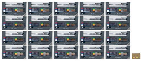Pentel Pencil Lead Holder and Lead Set, Multi 8 Set (PH802ST), 20-pack, Sticky Notes Value Set