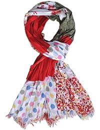 """Foulard / Chèche """"Fashionistas"""" - Collection """"Les Printanières"""" - 100% coton - 170 x 100 cm - Mixte Adulte et Adolescente"""