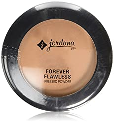 JORDANA Forever Flawless Face Powder - Light Honey