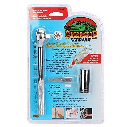 Gator Grip Steckschlüssel Multi Funktions Handwerkzeuge und Handle Universal Reparatur Werkzeuge 7-19mm