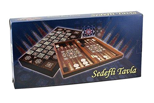 Sedef Orientalisches Backgammon Spiel