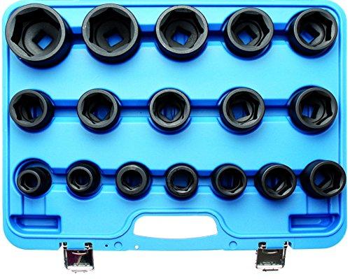 Bgs Force Clé à douille - inserts, 19-55 mm, 20 (3/4) 17 pièces, BGS de 5242
