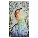 #7: Rrimin Diamond Painting Peacock on the Branches Cross Stitch Embroidery Home Decor (No.4)