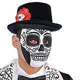 Adultos Amscan Día Internacional de la máscara muerta
