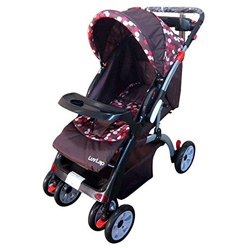 LuvLap Baby Stroller Pram Cruze Brown